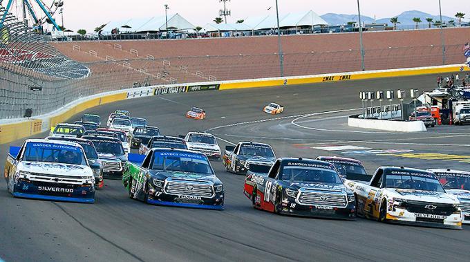 NASCAR Gander Outdoors Truck Series at Las Vegas Motor Speedway