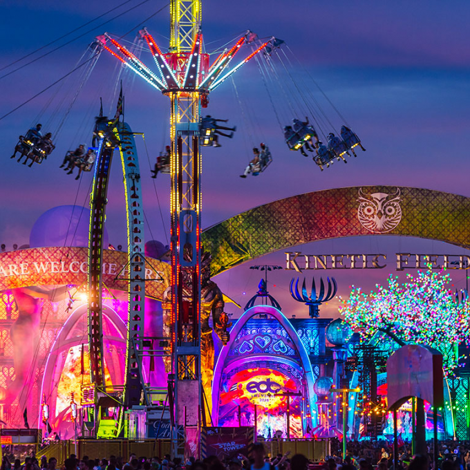 (Shuttle Passes Only) Electric Daisy Carnival - EDC Las Vegas at Las Vegas Motor Speedway
