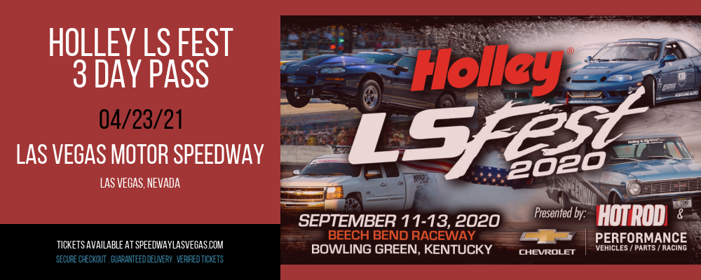Holley LS Fest - 3 Day Pass at Las Vegas Motor Speedway